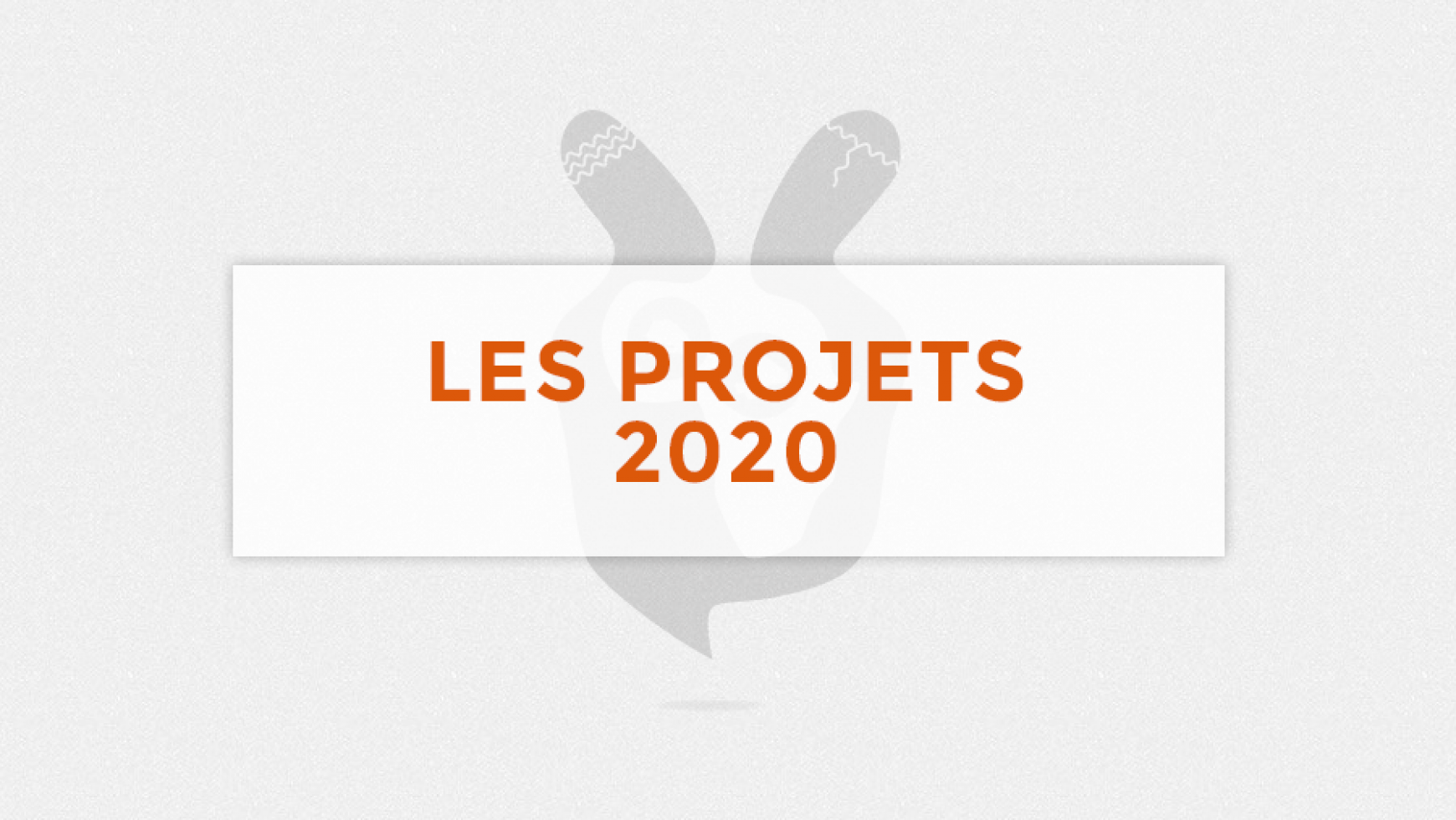 Projet en cours 2020